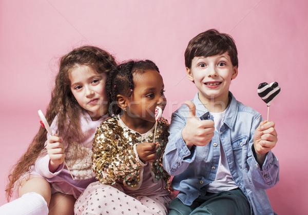 Yaşam tarzı insanlar ulus çocuklar oynama Stok fotoğraf © iordani