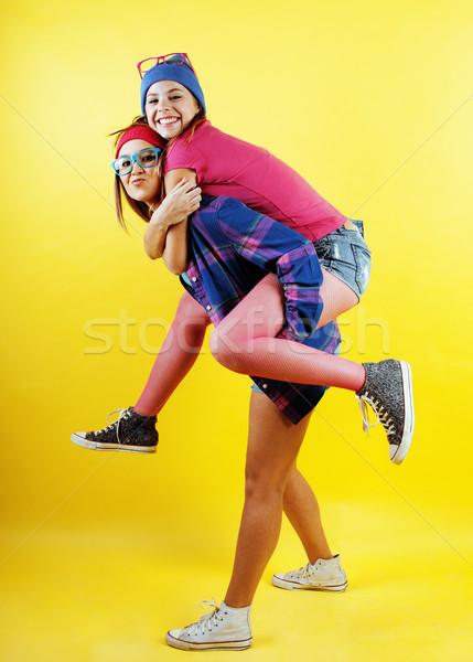 życia ludzi dwa dość uczennica Zdjęcia stock © iordani