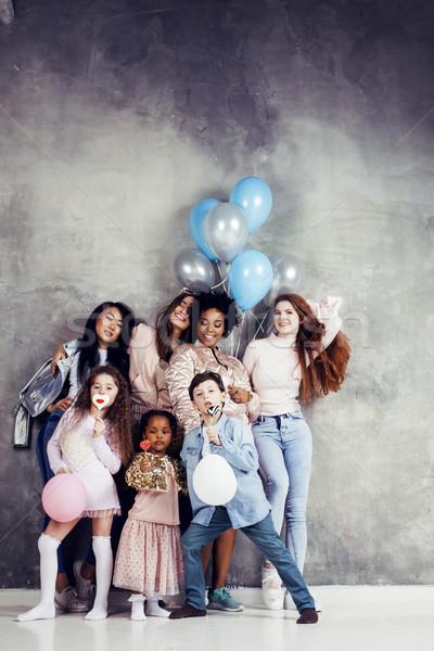 жизни люди молодые довольно разнообразия женщину Сток-фото © iordani
