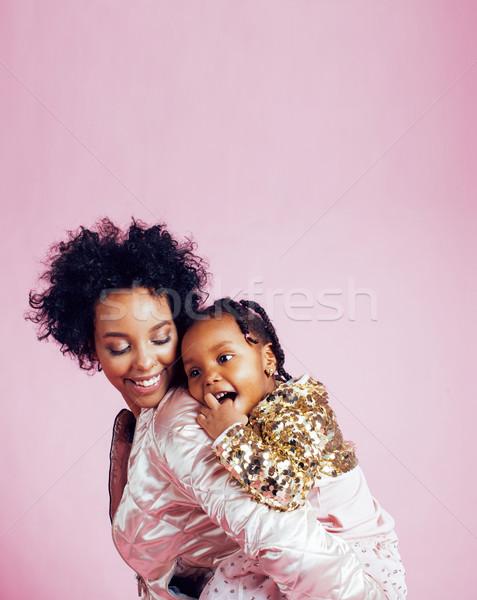 молодые довольно матери мало Cute дочь Сток-фото © iordani