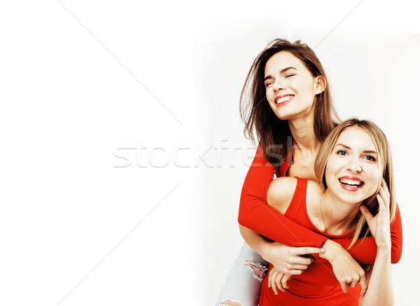 Сток-фото: Лучшие · друзья · вместе · позируют