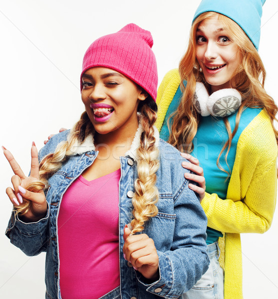国家 女の子 グループ 2 十代の ストックフォト © iordani