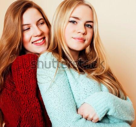 жизни люди моде портрет два Сток-фото © iordani