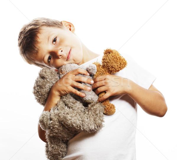 мало Cute мальчика многие Сток-фото © iordani