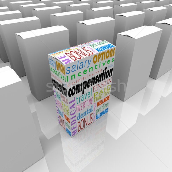 Compensation Benefit Package Most Generous Competition Employers Stock photo © iqoncept