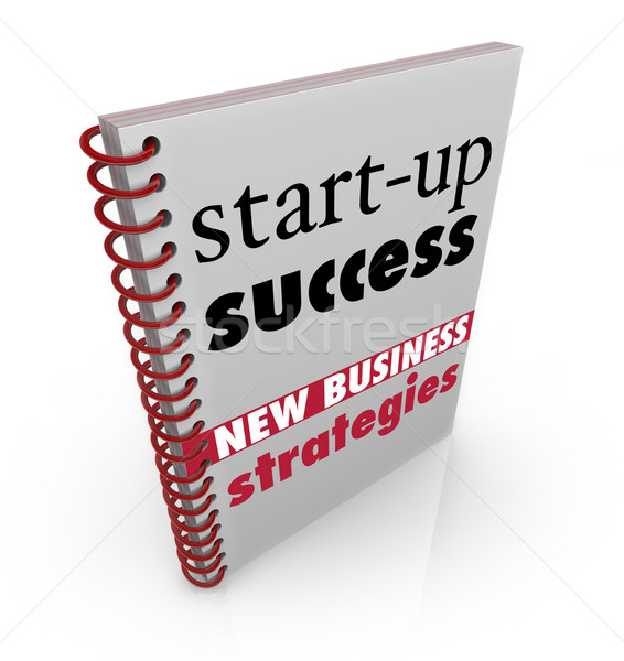 Start-Up Success New Business Strategy Advice Book Stock photo © iqoncept