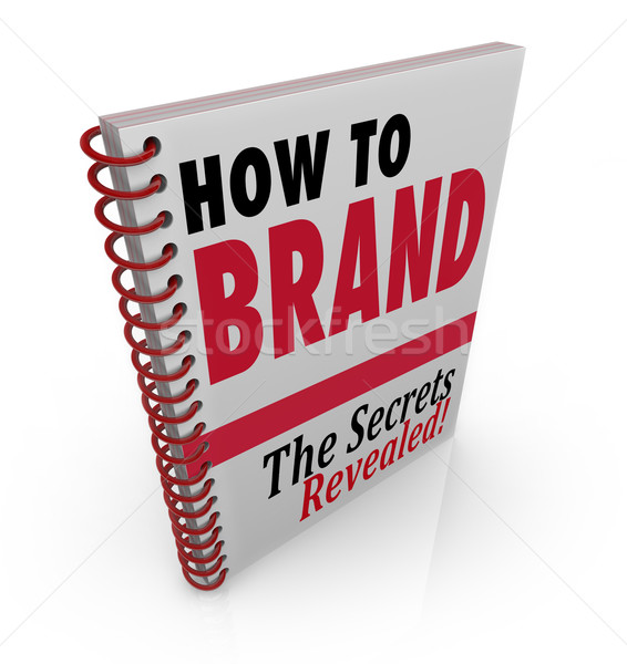 How to Brand Book Advice Guide Consultant Stock photo © iqoncept