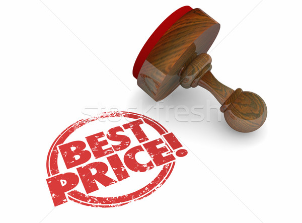 Best Price Lowest Sale Deal Offer 3d Illustration Stock photo © iqoncept