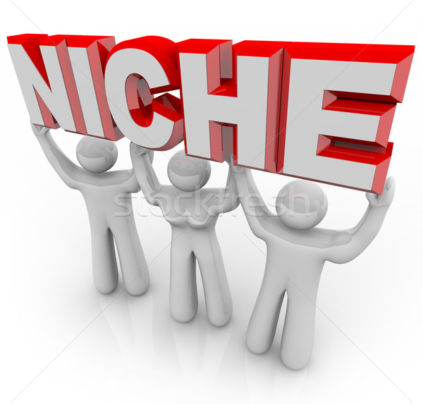 Niche Marketing Team of Customers with Unique Needs Stock photo © iqoncept