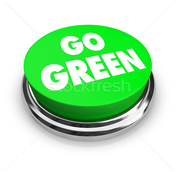 Go Green Button Stock photo © iqoncept
