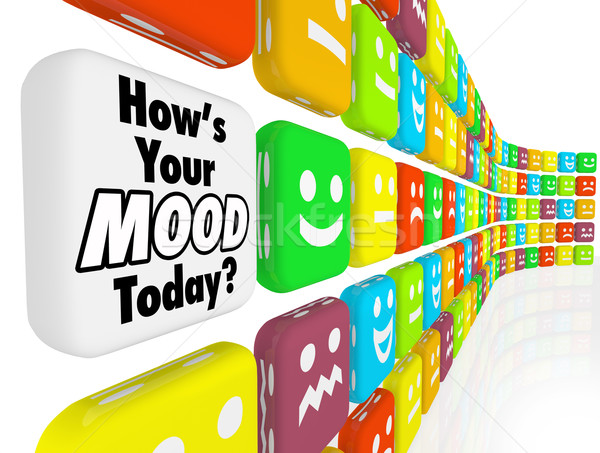 How is Your Mood Emotions Feelings Indicator Stock photo © iqoncept