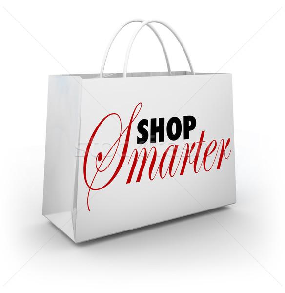Shop Smarter Find Deals Discounts Sale Prices Bag Stock photo © iqoncept