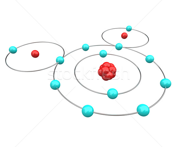 Water - H2O Atomic Diagram Stock photo © iqoncept