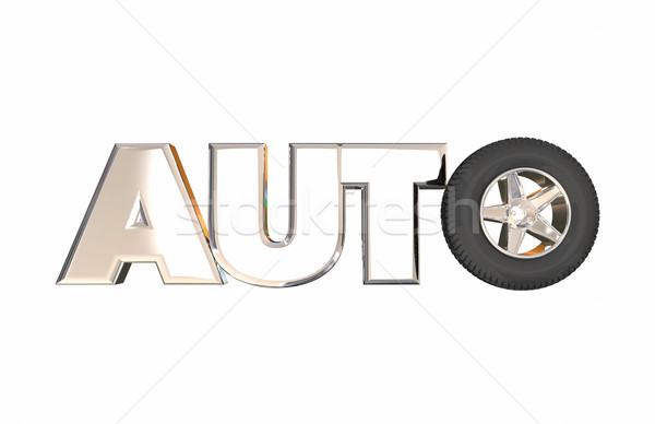Auto Industry Car Vehicle OEM Manufacturer Job Career Engineerin Stock photo © iqoncept