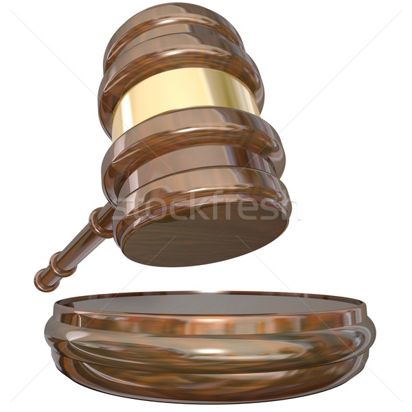 Judge Block Gavel Judgment Court Case Lawsuit Verdict Stock photo © iqoncept