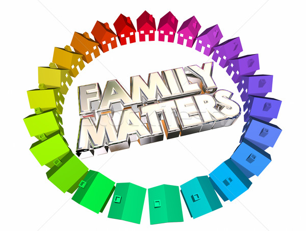 Family Matters People Relatives Relationships 3d Illustration.jp Stock photo © iqoncept