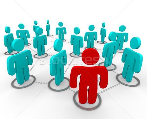 Social Networking Stock photo © iqoncept