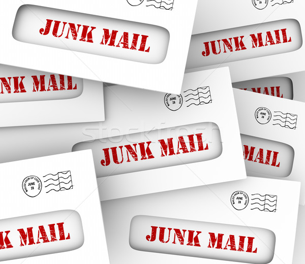 E-mail dirigir marketing Foto stock © iqoncept
