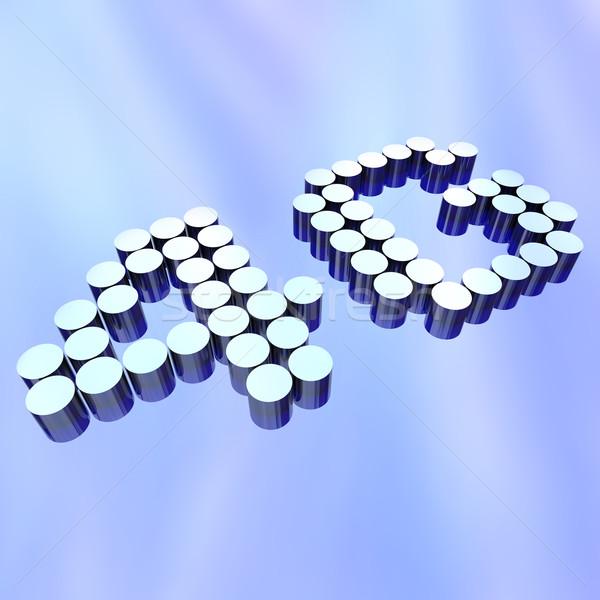 4g cartas abstrato novo padrão Foto stock © iqoncept