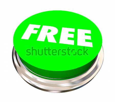 Free Bonus Complimentary Gift Round Button 3d Illustration Stock photo © iqoncept