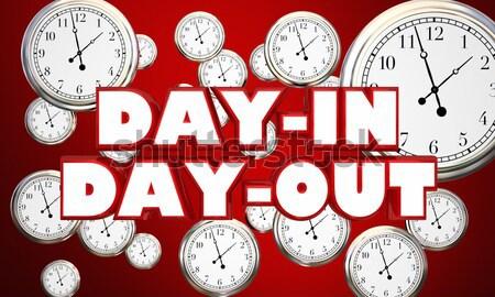 время работу часы обратный отсчет рабочих крайний срок Сток-фото © iqoncept