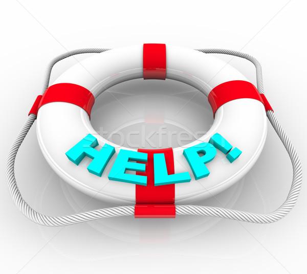 Help - Life Preserver Stock photo © iqoncept