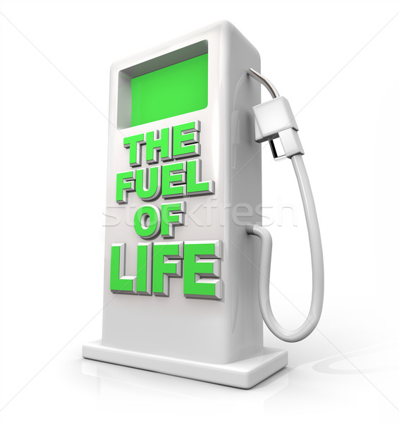 The Fuel of Life - Gasoline Pump for Refueling Stock photo © iqoncept