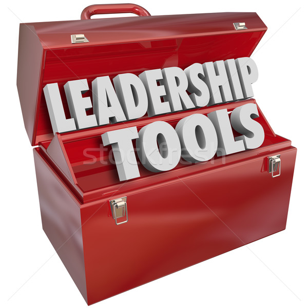 Leadership Tools Skill Management Experience Training Stock photo © iqoncept