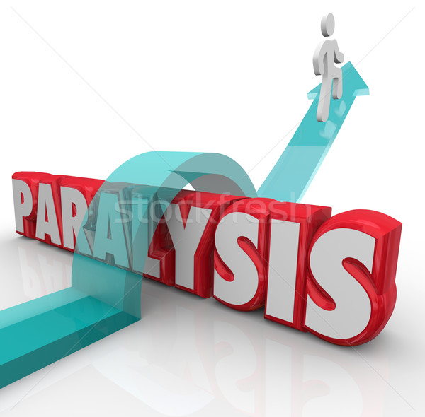 Mot patient courir santé problème guérir Photo stock © iqoncept