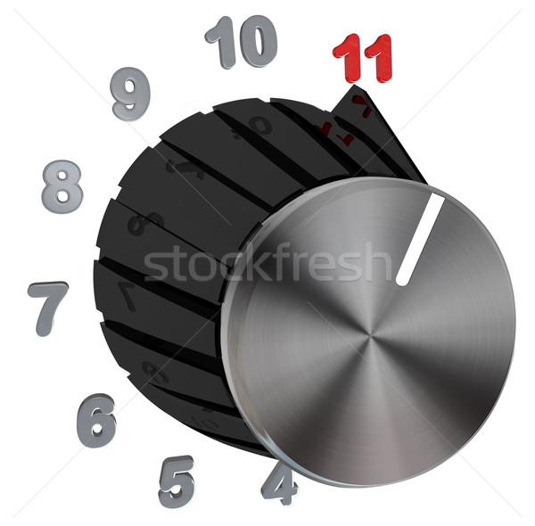 Discar número nível anel números Foto stock © iqoncept