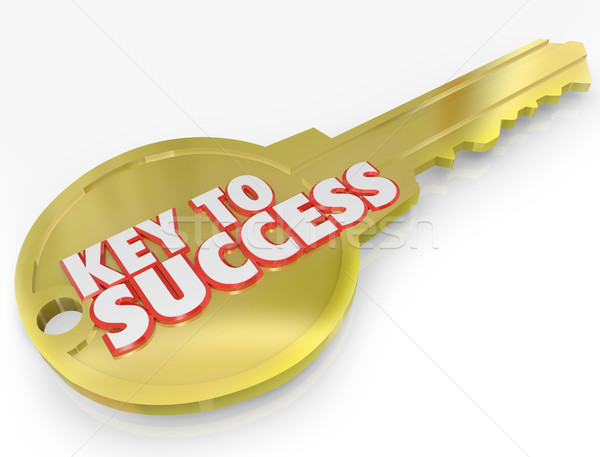 Key to Success Open Successful Career Life Stock photo © iqoncept
