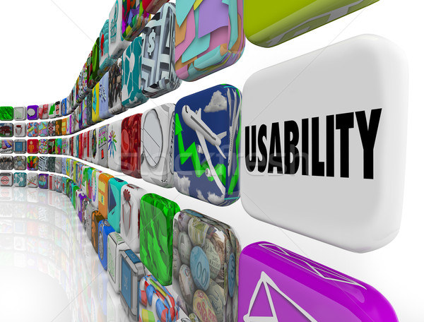 Woord toepassingen software programma Stockfoto © iqoncept