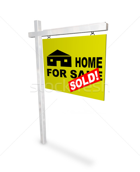 Home for Sale - Sold Sign Stock photo © iqoncept