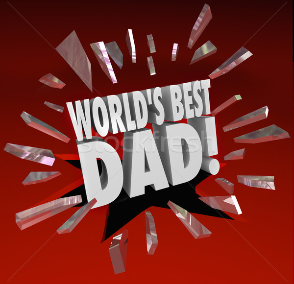 World's Best Dad Parenting Award Honor Top Father Stock photo © iqoncept