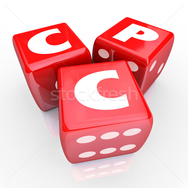 CPC Cost Per Click Online Web Advertising Targeted Marketing Stock photo © iqoncept