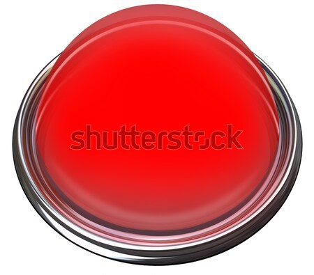Red Round Button Light Catch Attention Advertise Message Alert Stock photo © iqoncept