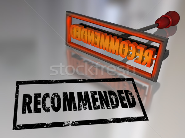 Recommended Branding Iron Best Choice High Rating Review Stock photo © iqoncept
