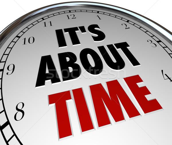 Foto stock: Tiempo · palabras · reloj · recordar · fecha · tope