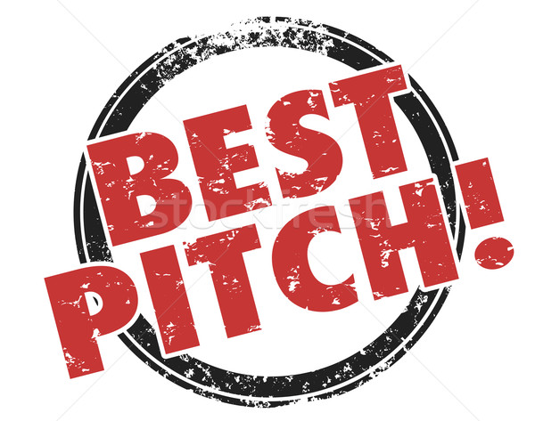 Best Pitch Convincing Sales Presentation Persuasive Proposal Stock photo © iqoncept