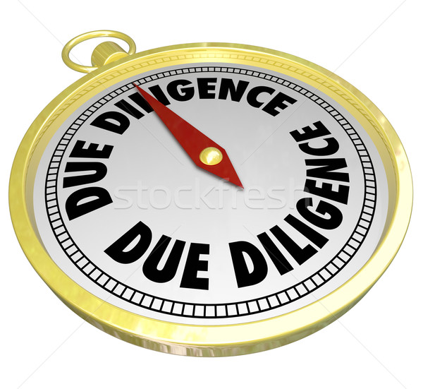 Due Diligence Compass Research Buy Company Acquisition Stock photo © iqoncept