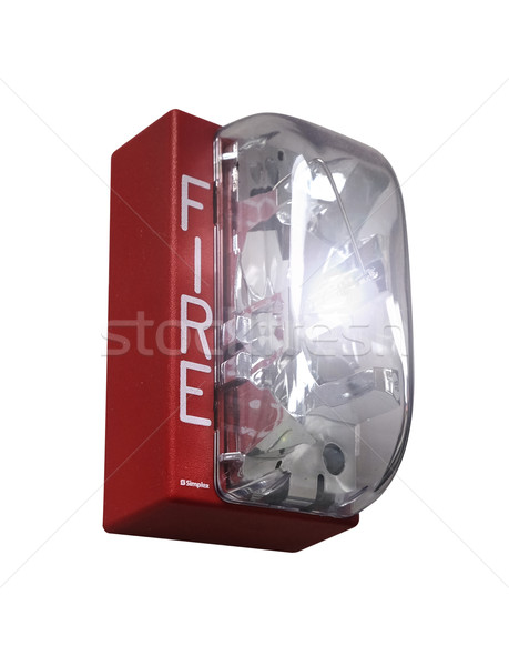 Fire Drill Alarm Emergency Isolated Stock photo © iqoncept