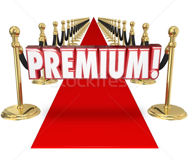 Premium Red Carpet Treatment Top Customer Priority Status Stock photo © iqoncept