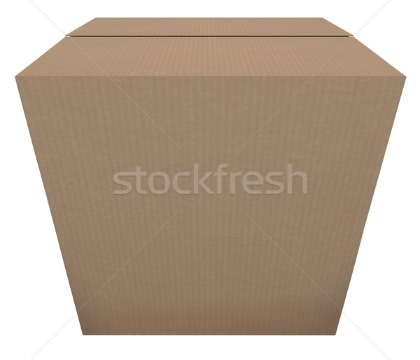 Ready to Ship Cardboard Box Mailing Package Order In Stock Stock photo © iqoncept