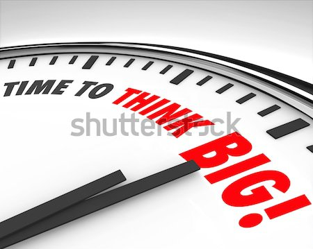 Time to Be Happy - Clock Stock photo © iqoncept