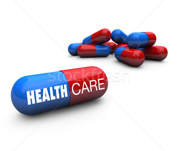 Health Care - Capsule Pills Stock photo © iqoncept