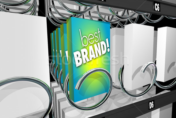 Best Brand Preference Affinity Customer Loyalty Vending Machine  Stock photo © iqoncept