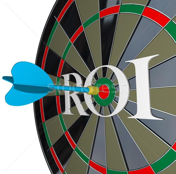 Roi voltar investimento riqueza Foto stock © iqoncept