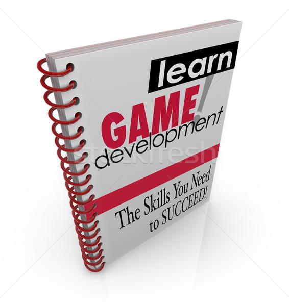 学ぶ ゲーム 開発 コンピュータ プログラム ソフトウェア ストックフォト © iqoncept