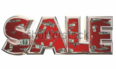 Debt Money Owed Bills Payment Word 3d Illustration Stock photo © iqoncept