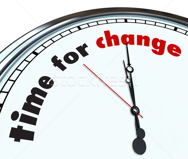 Time for Change - Ornate Clock Stock photo © iqoncept